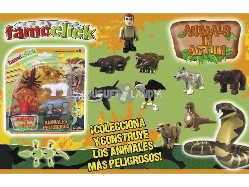 Famo click animaux en action pack 5