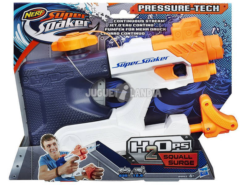 Nerf Supersoaker H2ops Squall Surge