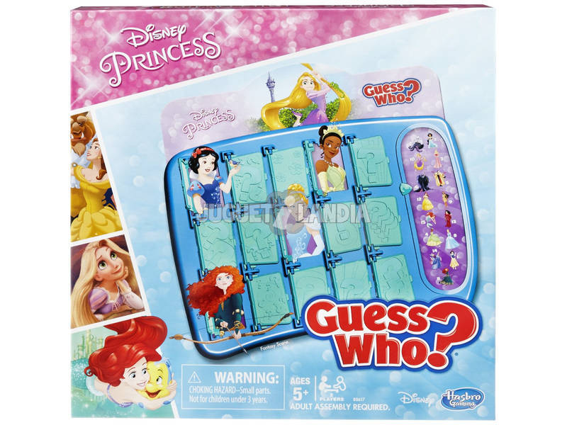 Disney Princess Edition Game Guess Who?