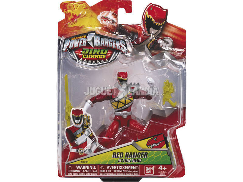 Power Rangers Figuras de Accion Dino Charge