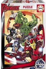 Puzzle 100 Pzas Avengers