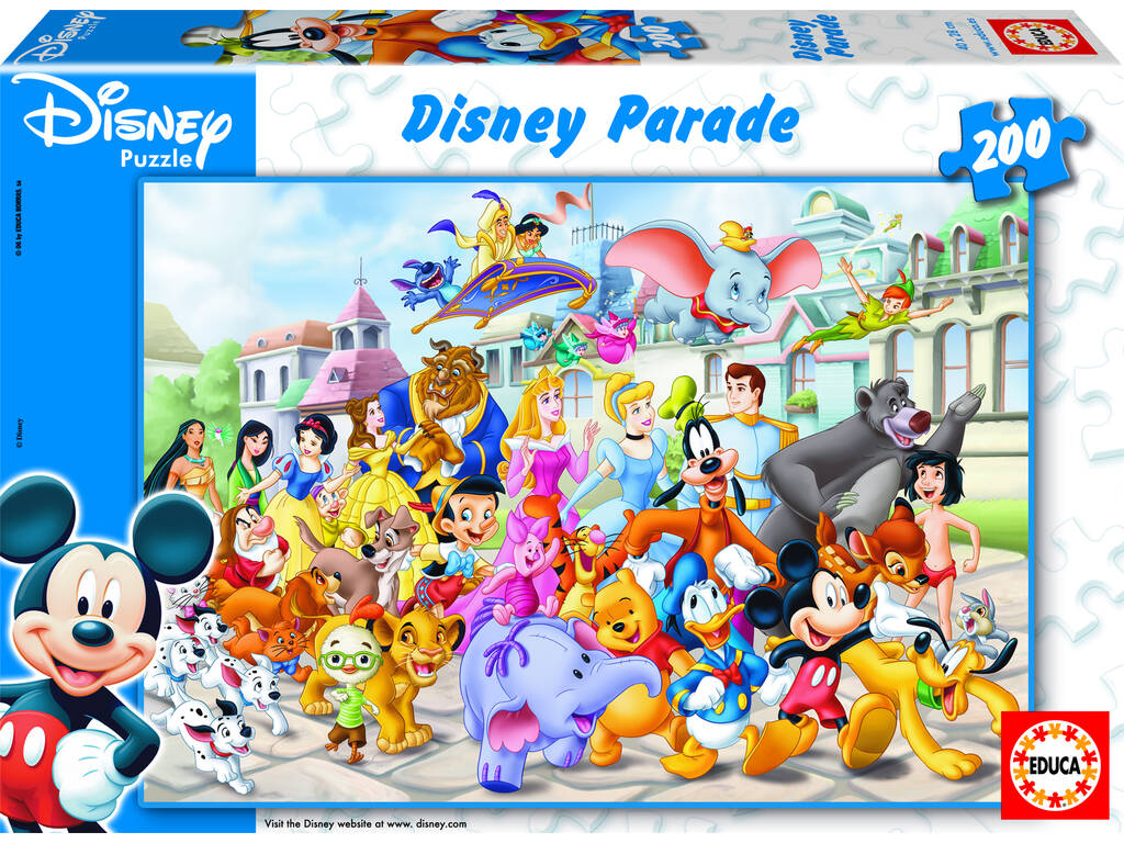 Puzzle 200 Sfilata Disney