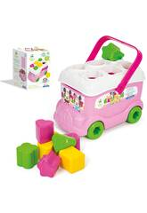 Baby Minnie Autob�s Formas y Colores