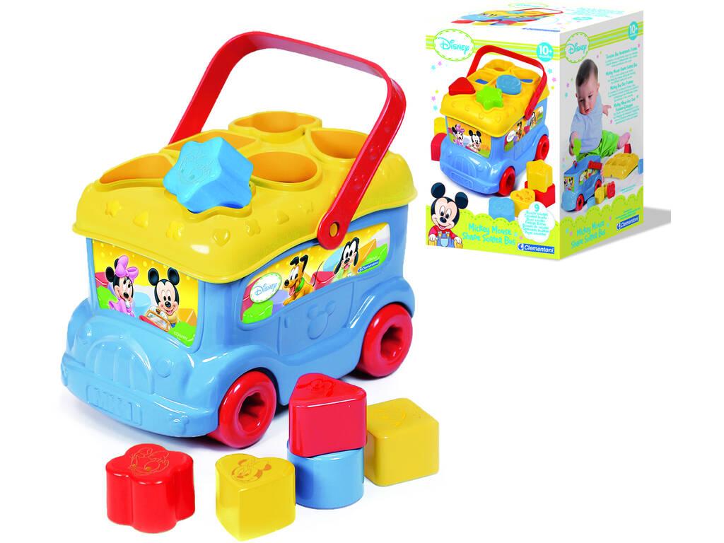 Baby Disney Autobus Forme e Colori