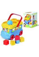 Baby Disney Autobús Formas y Colores