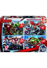 Puzzle 50-80-100-150 Avengers