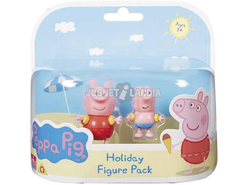 Peppa Pig Figura Peppa e seus amigos. Bandai 84205