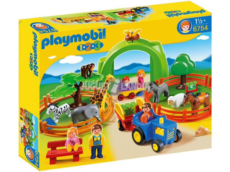 Playmobil 1.2.3 Mi Primer Zoo