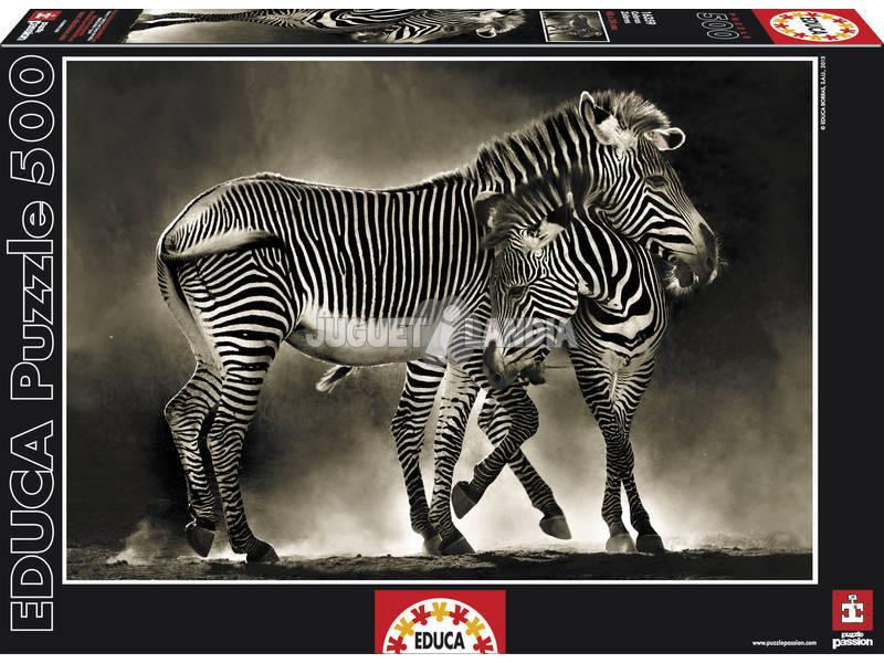 PUZZLE 500 Zebras