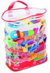 imagen Clemmy Plus Bolsa 30 Bloques Clementoni 14879