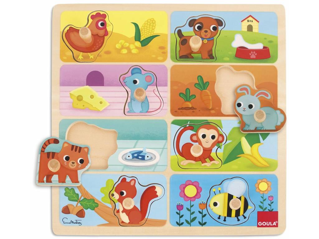 Puzzle Animaletti Diset 53041