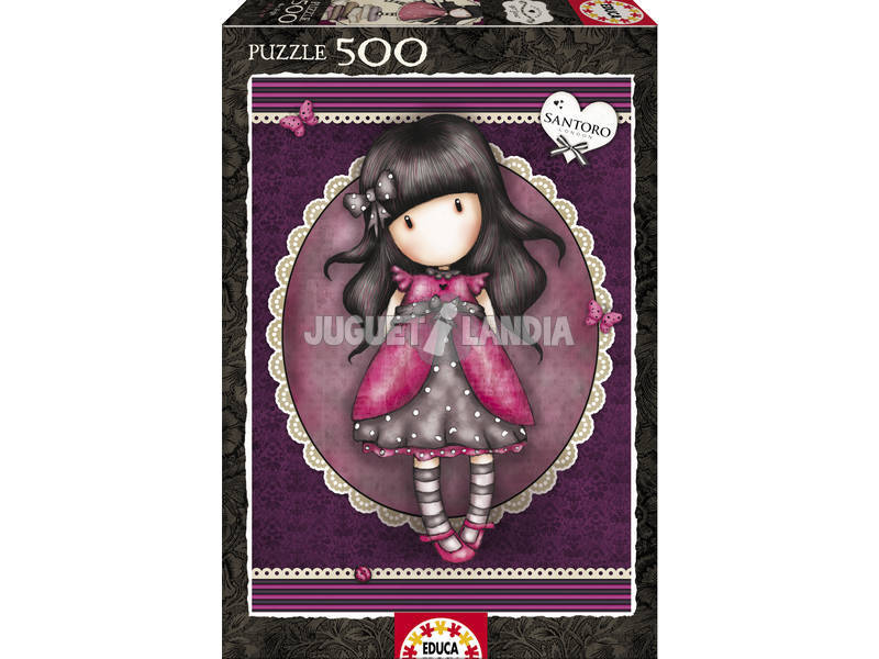 Puzzle 500 Lady Bird Gorjuss
