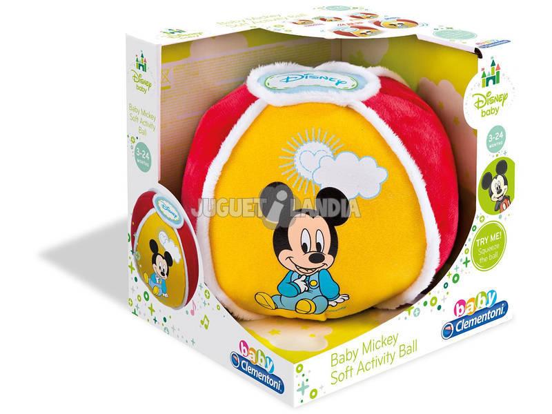 Ballon Texture et Son Baby Mickey