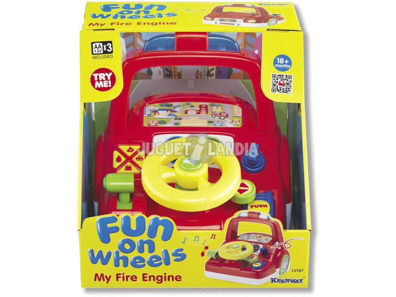 Simulador Infantil de Conducción de Juguete