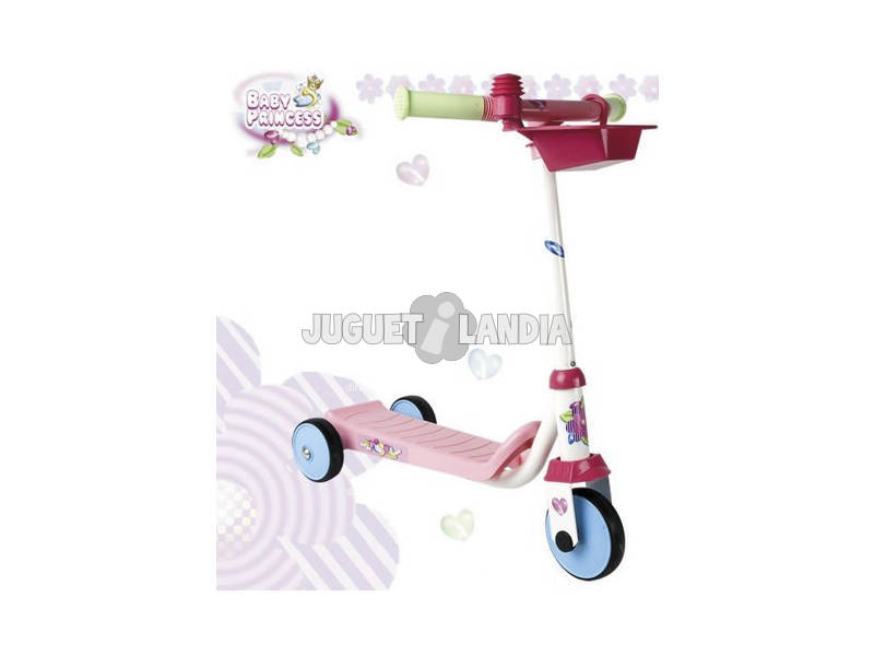 Patinete tres ruedas Baby Princess