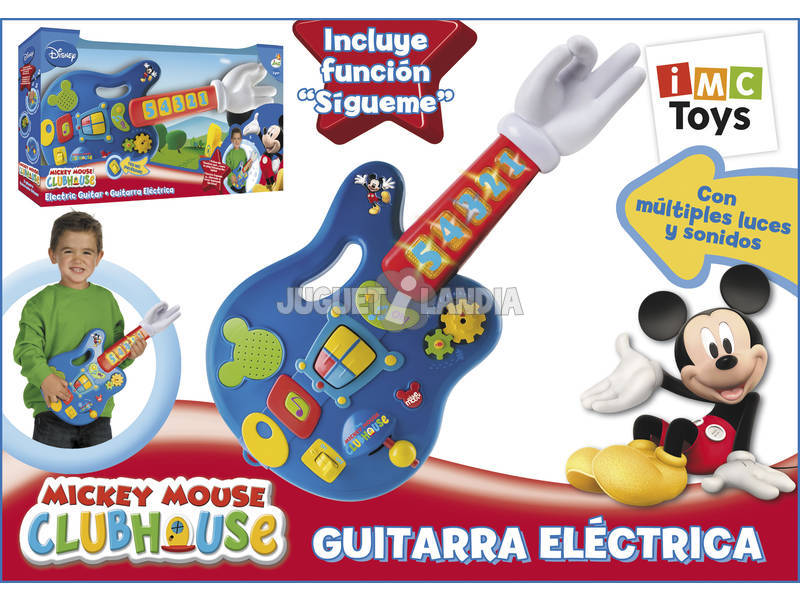 Guitarra Electrica Mickey Mouse Club House