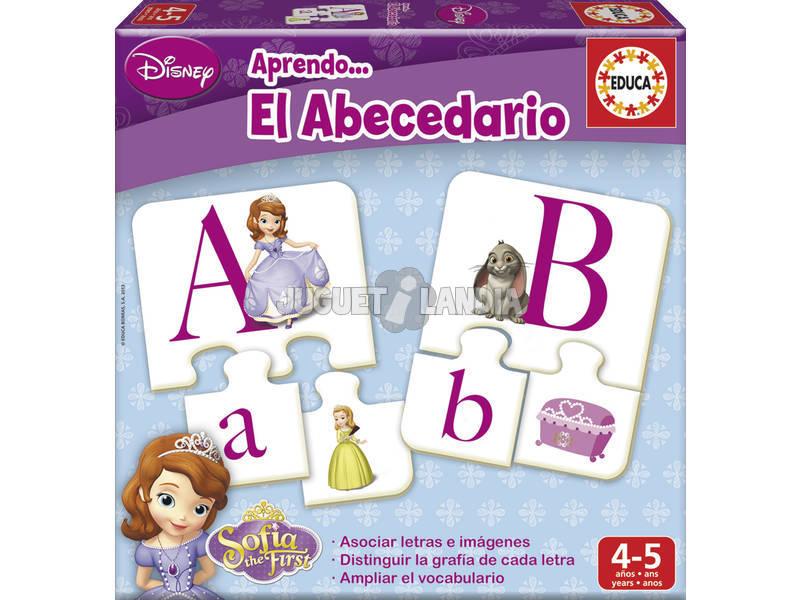 Aprendo el abecedario Princesa Sofia