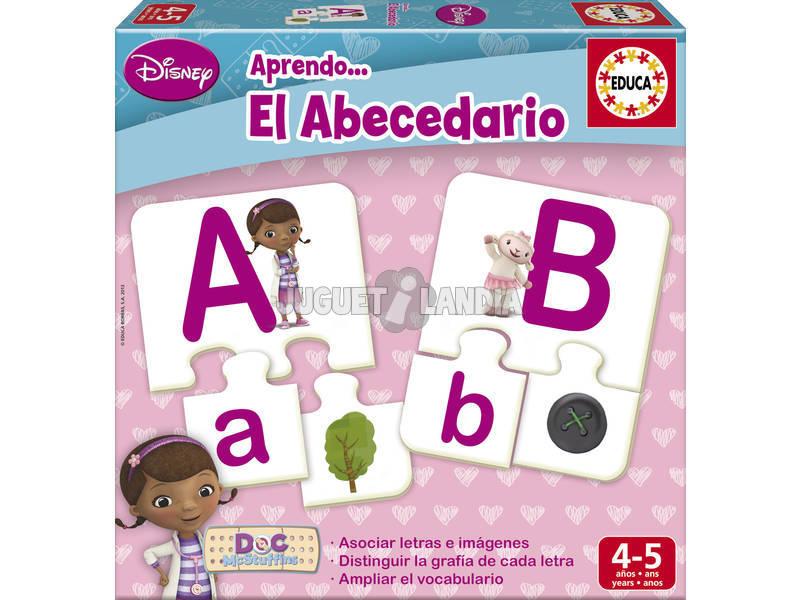 Imparo L'abecedario Dottoressa Peluche