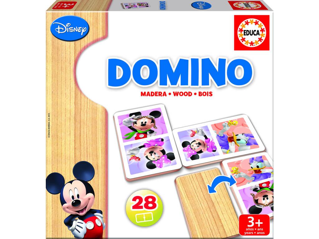 Domino Legno Mickey e Minnie