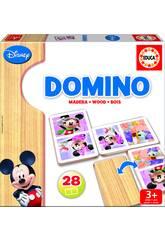 Juego de Mesa Dominó Madera Mickey y Minnie Educa 16037