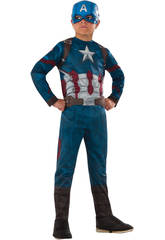 Disfraz Niño Capitán América CW Classic T-L
