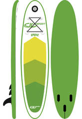 Prancha de stand-up paddle surf board 300x75x10cm Ociotrends WH300-10