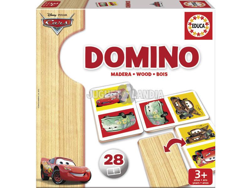 Domino en bois Cars