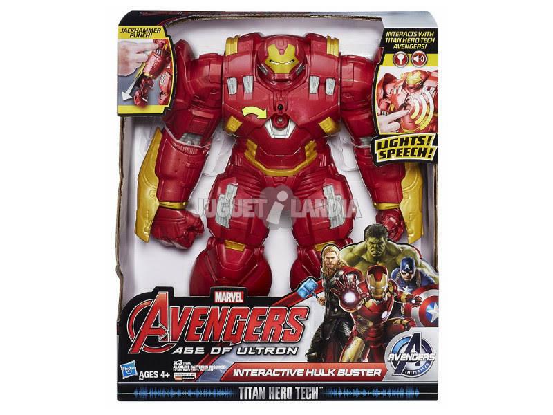Avengers Hulkbuster Interactivo