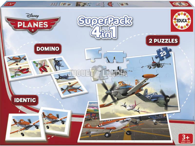 Educa superpack Planes