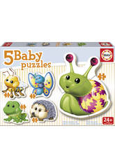 Baby Puzzle Animaux du Bois Educa 15892