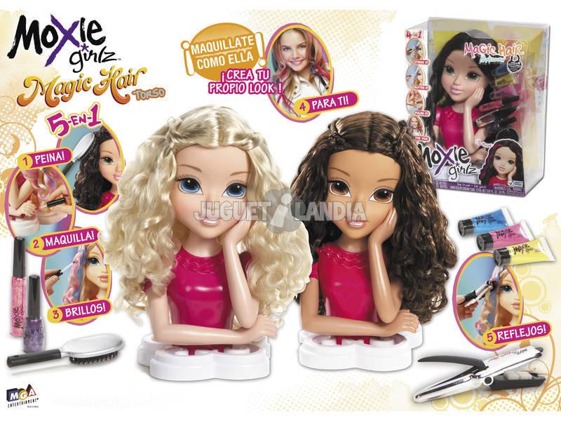 Moxie Girlz Magic Hair Torso