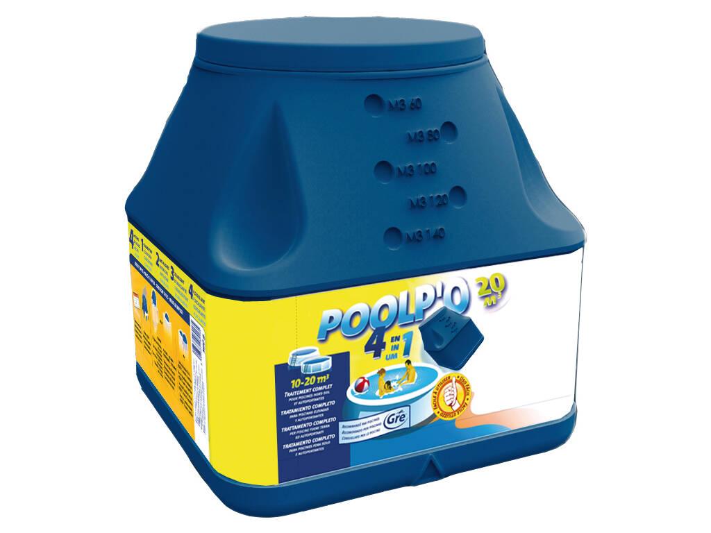 Pulpo -10-30 m3-700 gr.4 en 1 solución tratamiento