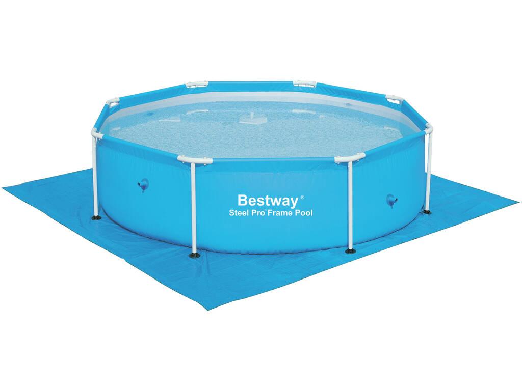 Tapete de piso 274x274 cm. Bestway 58000 para piscina