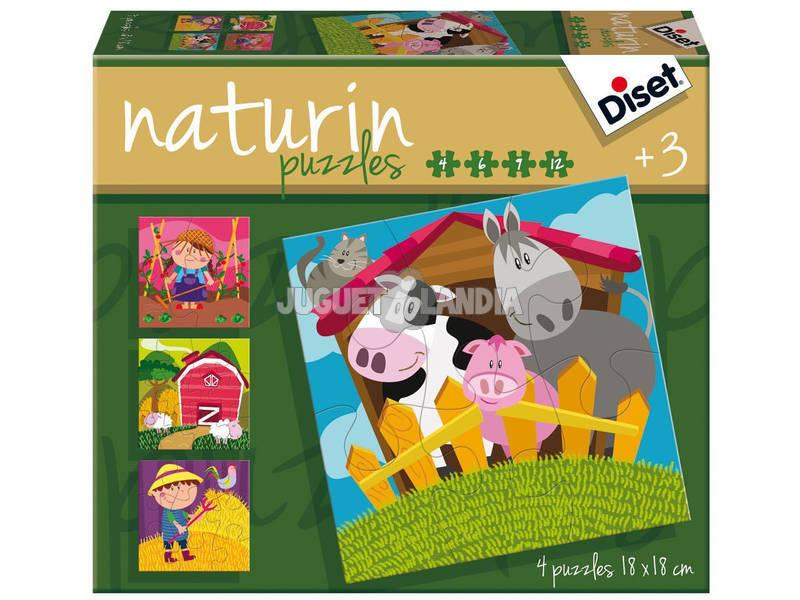 Puzzle Infantil Naturin Quinta Diset 69958