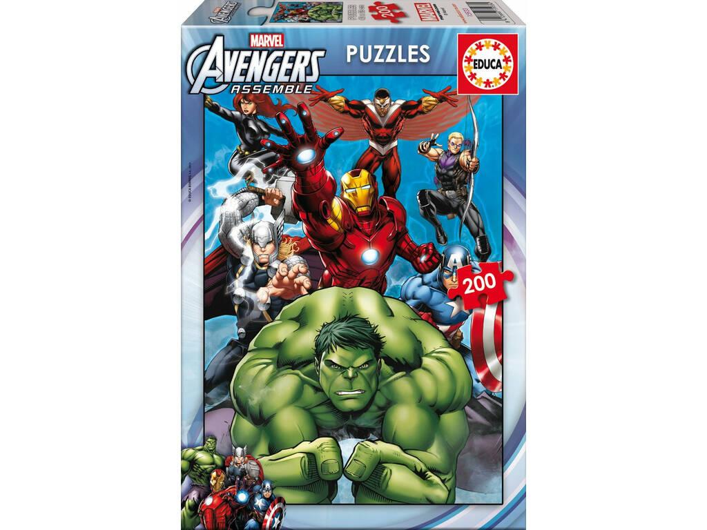 Puzzle 200 Vingadores