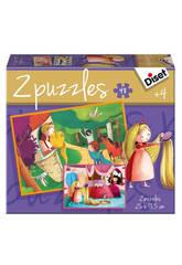 Puzzle Cuento 2x48 Rapunzel