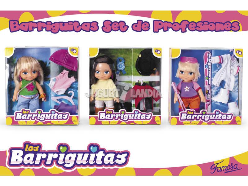 Barriguitas muñeca con set de ropa