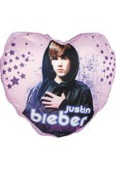 Justin Bieber Cojín Corazón Musical
