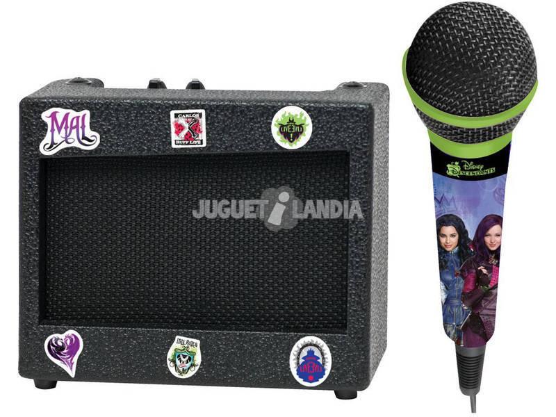 Descendentes Karaoke Portatil com Microfone