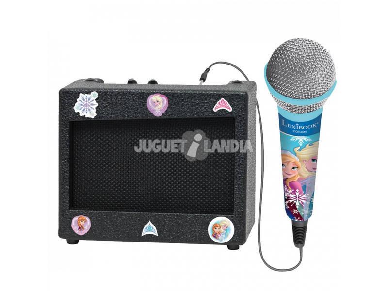 Frozen Karaoke Portatil con Micrófono