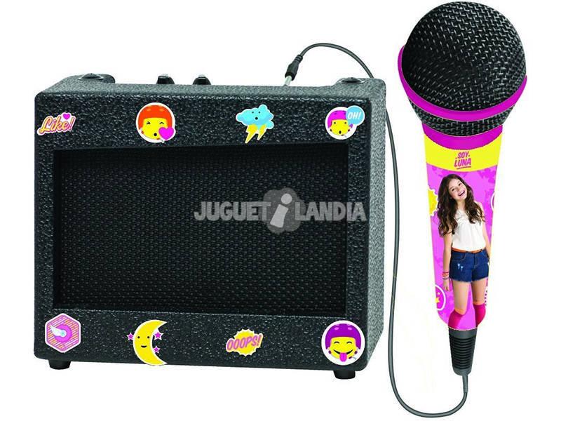 Sou Karaokê Portátil Luna com Microfone