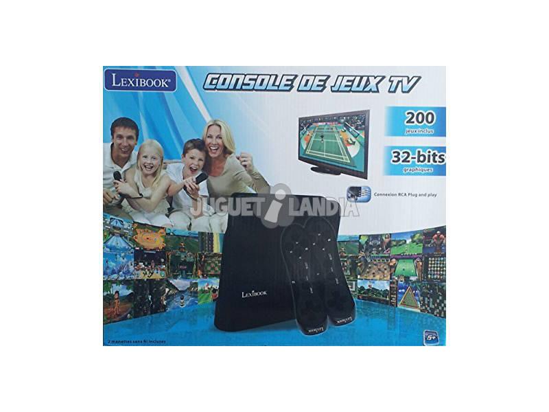 Acheter console det l vision avec 200 jeux juguetilandia - Console de jeux lexibook ...