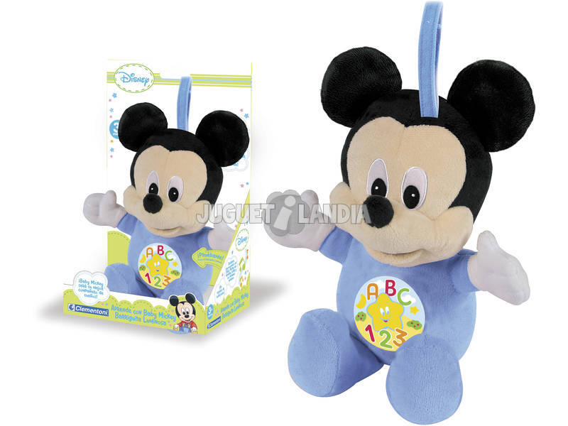 PELUCHE EDUCATIVO BABY MICKEY