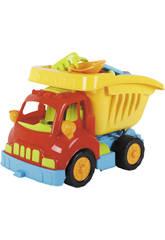 Camion Dumper Giocattolo con Accessori Spiaggia