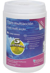 Cloro Multiaccion Tabletas 200 Gr. 1 Kg.