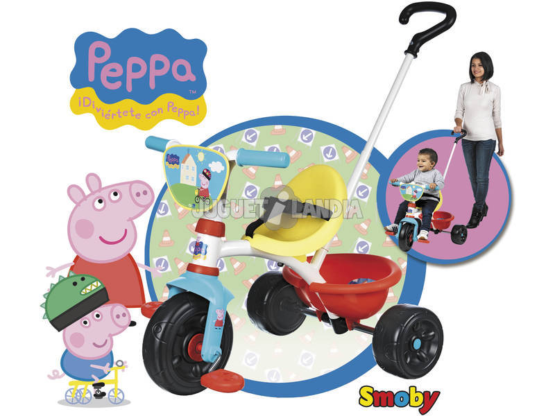 Triciclo Be Move Peppa Pig