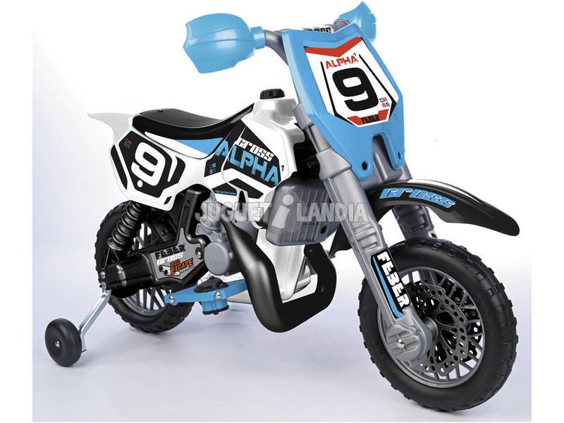 Vehículo Feber Cross Moto Alpha 6V 82x119x57cm 3 Años Famosa 800007932
