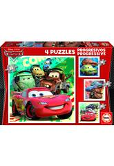 Puzzle Progressives 12-16-20-25 Cars 2