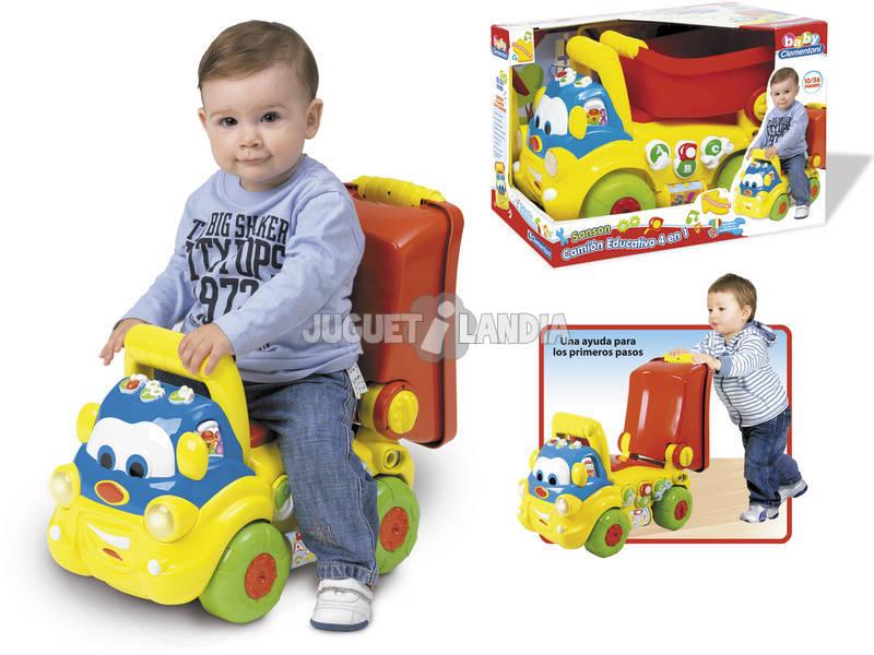 Camion educativo per bambini 4 in 1 Sansone