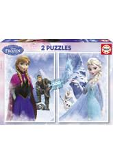 Puzzle 2X500 Frozen